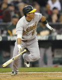Kurt Suzuki Kurt Suzuki 8 de los Oakland Athletics...