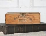 Vintage Sam l J Davis y Ca 1886 Caja De Cigarro De...