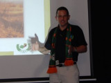 El Director General de Agri Zambia, Sr. Landon Rom...