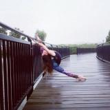 Larisa Magda larisamagda vscobr bailarina flexibil...