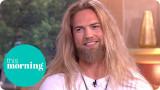 El Viking caliente Lasse Lokken Matberg En El Estu...