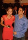 Archivo Laura Carswell y su marido Ben Bass en TIF...
