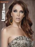Laura Flores en la revista