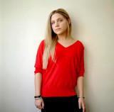 Imagen Lauren collins camisa roja jpg Degrassi Wik...