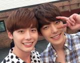 Lee Jong Suk y Kim Woo Bin Corea del favorito brom...